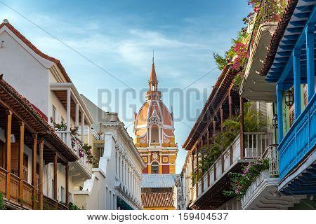Colorful Historic Cartagena
