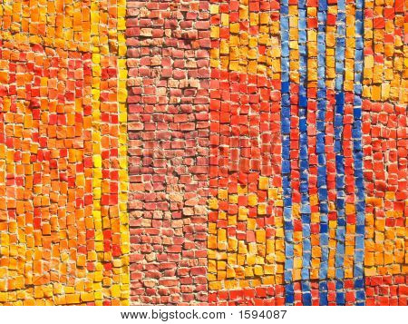 Color Tiles Mosaic Texture