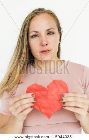 Broken Heart Sadness Pain Concept