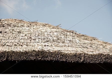 Thick Straw Thatched Roof