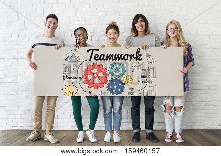 Teamwork Community Partnership Union Concept