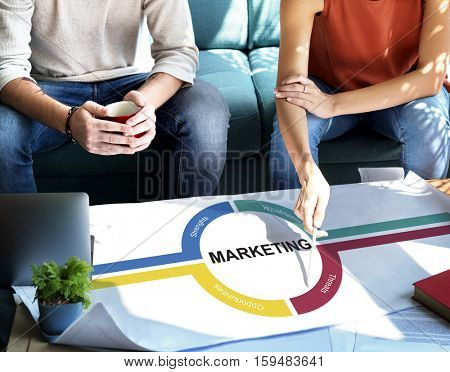 Strategy Planning Organization Marketing Concept