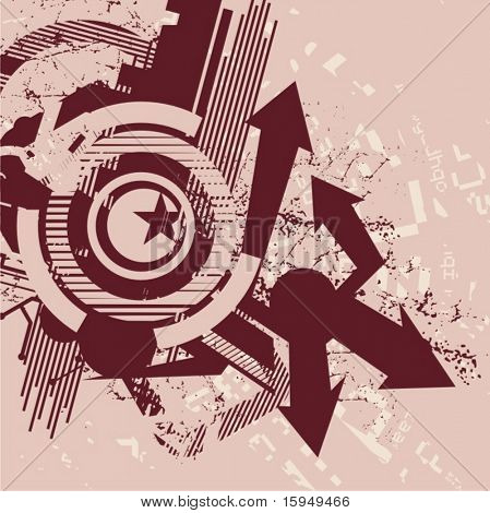 Abstract tech background, vector illustration series.