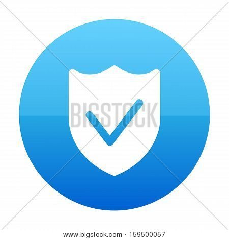 Guard, Lock, Protect, Protection, Shield With Check Sign Icon
