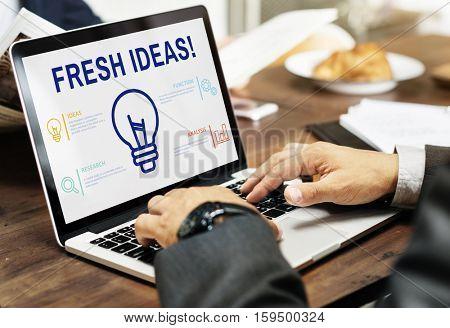Fresh Idea laptop Concept