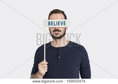 Believe Worship Faith Mind Concept