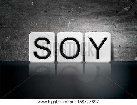 Soy Tiled Letters Concept And Theme