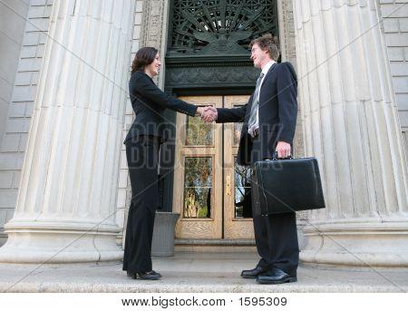 Gente de negocios