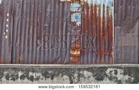 Old metal sheet roof texture. Pattern of old metal sheet. Metal sheet texture. Rusty metal sheet texture rusty metal wall