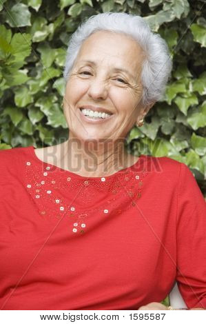 Good-Looking Senior Woman