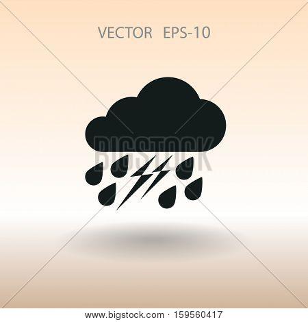 weather icon. vector illustration