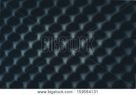 Soundproof wall in sound studio background of sound absorbing sponge