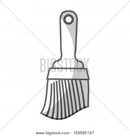 paint brush tool icon image vector illustration design