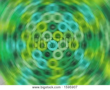 Green Round Blur