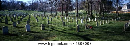 A somber day at Arlington cemetery
