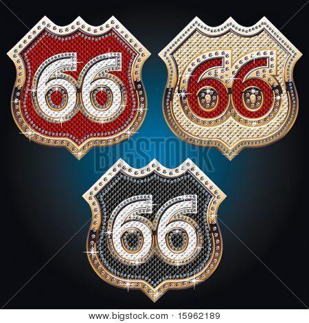 Tan viejo como signo de oro ruta 66