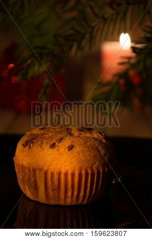 Muffins On Christmas Eve