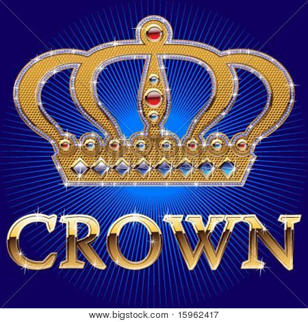 Hight detailed brilliant crown