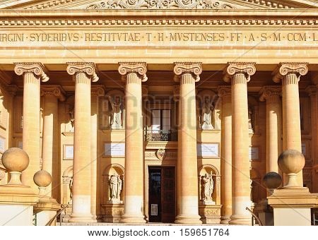 Mosta, Malta - The Church of Assumption of our Lady also know as Mosta Dome