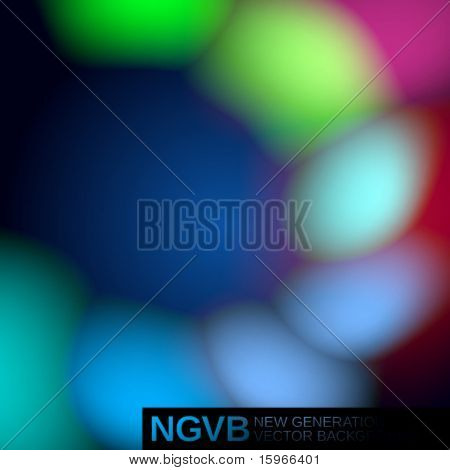 New Generation Vector Background. Spots. Easy to edit. To modify elements you should to unclip content.