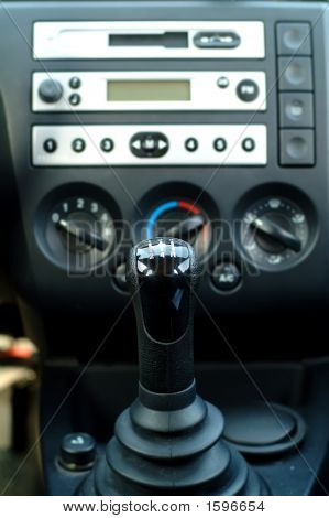 Car Interior,Gear Shift