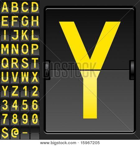Conjunto de caracteres en una mesa los bancos mecánica