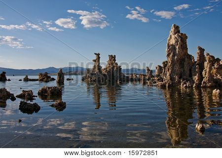 Early evening on Mono Lake