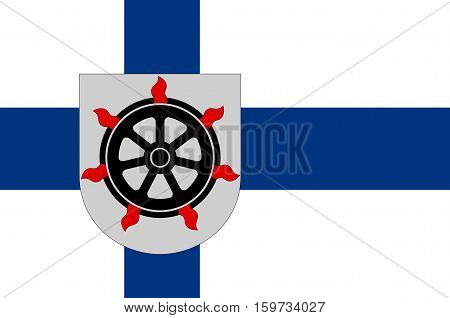 Flag Of Lahti is a city and municipality in Paijanne Tavastia region in Finland