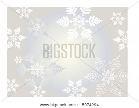 freezing snowflake vector