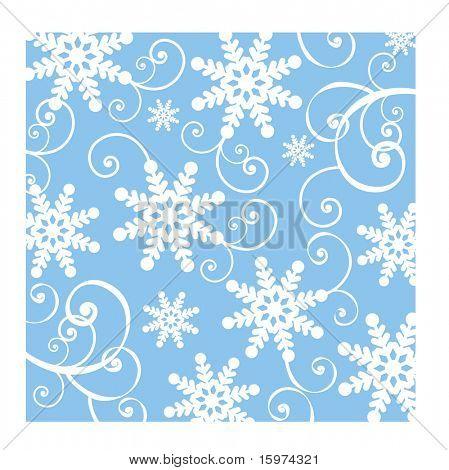 diversão vetoriais de fundo de floco de neve