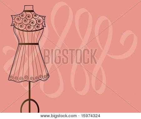 Dress on Pink
