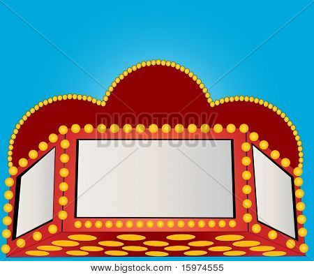 marquee vector