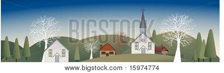horizontal village