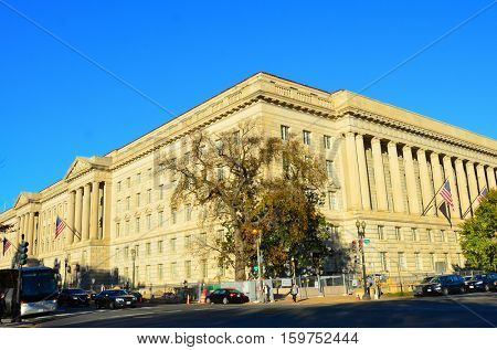 Department of Commerce Building in Washington DC, US