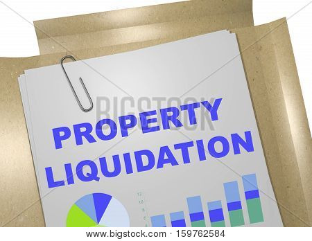 Property Liquidation - Business Concept