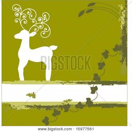 reindeer in meadow