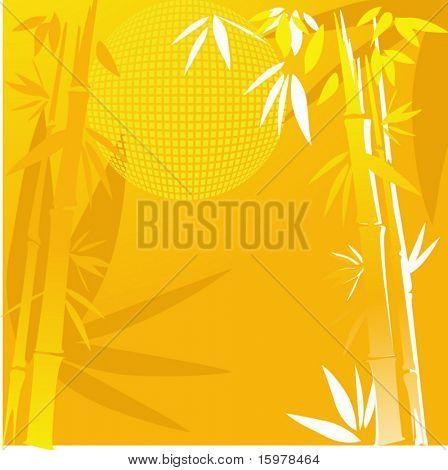 bamboo in yellow