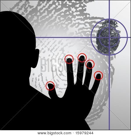 cybercrime biometrics fingerprint