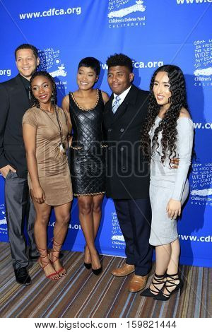 LOS ANGELES - DEC 1:  Keke Palmer, Guests at the Children's Defense Fund - 26th Beat The Odds Awards at Beverly Wilshire Hotel on December 1, 2016 in Beverly Hills, CA