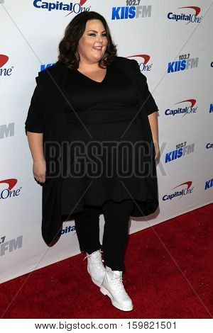 LOS ANGELES - DEC 2:  Chrissy Metz at the 102.7KIIS FM's Jingle Ball 2016 at Staples Center on December 2, 2016 in Los Angeles, CA