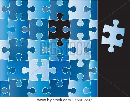 puzzle (pieces removable)