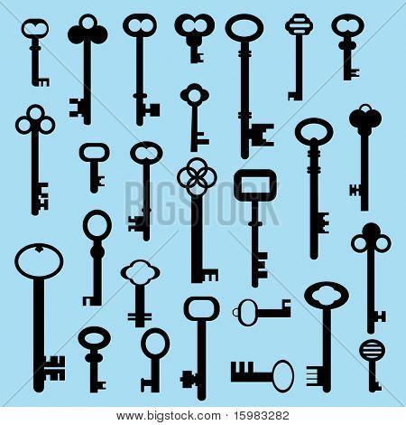 25 different keys