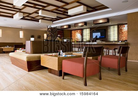 Interior design - Restaurant