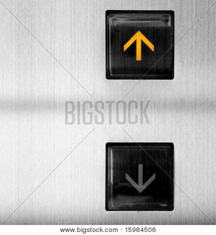 Elevator Button up (success concept)