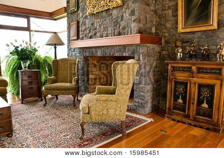 Interior design series: classic living room