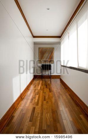 Interior design series: classic empty hallway