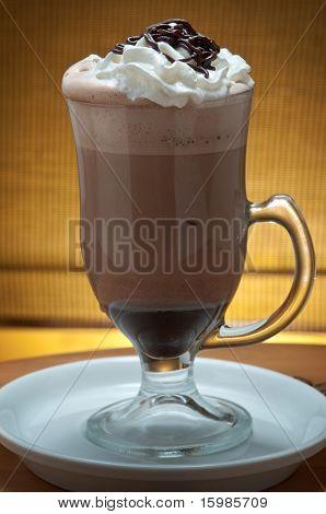 ice latte frappuccino / cappuccino