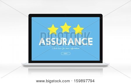 Quality Management Guarantee Assurance Concept