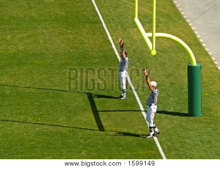 Football Touchdown Referee