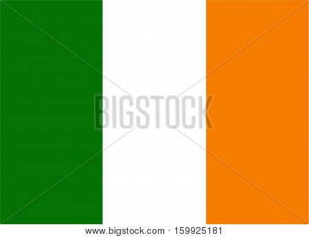 Ireland national flag is the symbol of the country.